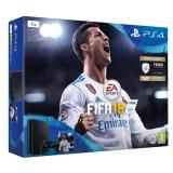 Sony PlayStation 4 SLIM 1TB + FIFA18 + PS Plus 14 dní černá