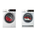 Set (Automatická pračka AEG ProSteam® L7FBE48SC) + (Sušička prádla AEG AbsoluteCare® T8DBE48SC)