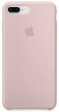 Apple Silicone Case pro iPhone 8 Plus / 7 Plus - pískově růžový