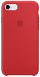 Apple Silicone Case pro iPhone 8/7 (PRODUCT)RED červený
