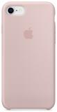 Apple Silicone Case pro iPhone 8/7 - pískově růžový