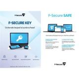 F-Secure TOTAL,  3 zařízení / 1 rok + KEY Premium X zařízení / 2 roky