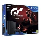 Sony PlayStation 4 SLIM 1TB + Gran Turismo Sport + PS Plus 14 dní černá + dárek