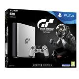 Sony PlayStation 4 SLIM 1TB + Gran Turismo Sport Speciální edice +  PS Plus 14 dní černá/stříbrná