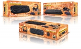 Connect IT Biohazard Gaming Combo (klávesnice + myš + headset) černý