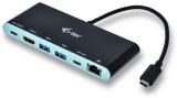 i-tec Travel 4K, USB-C černá