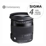 Sigma 17-70mm F2.8-4 DC MACRO OS HSM Nikon černý