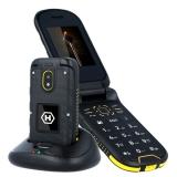 myPhone Hammer Bow Plus Dual SIM černý/oranžový