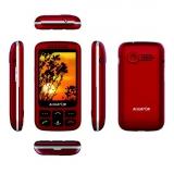 Aligator VS 900 Senior Dual SIM stříbrný/červený