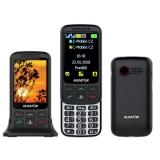 Aligator VS 900 Senior Dual SIM černý/stříbrný
