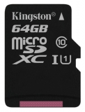 Kingston Canvas Select MicroSDXC 64GB UHS-I U1 (80R/10W)