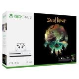 Microsoft Xbox One S 1 TB + Sea of Thieves bílá