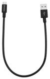 Verbatim Sync & Charge USB/micro USB, 30cm, nerezová ocel černý