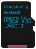 Kingston Canvas Go! MicroSDXC 64GB UHS-I U3 (90R/45W)