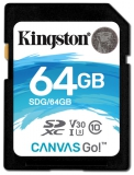 Kingston Canvas Go! SDXC 64GB UHS-I U3 (90R/45W)