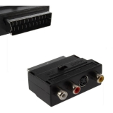 AQ SCART / S-VIDEO nebo 3x CINCH, in/out