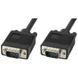AQ VGA (15pin) s konektory VGA M / VGA M, 5 m