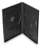 Cover IT pro 2 DVD, 14mm, 10ks/bal černý