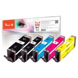 Peach Canon PGI-570XL/CLI-571XL, 975 stran, černá/červená/modrá/žlutá