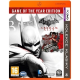 CENEGA PKK BATMAN ARKHAM CITY GOTY