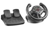 Trust Compact Racing Wheel / 2 pedály / 100° / feedback / 13 tlačítek / USB