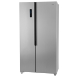 Americká lednice ETA Side-by-Side 138890010 stříbrná