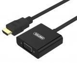 Unitek HDMI / VGA + audio