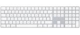 Apple Magic s numerickou klávesnicí - Czech bílá