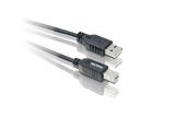 Philips USB A/USB B, 1,8 m černý
