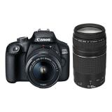 Canon EOS 4000D + 18-55 DC III + 75-300 DC černý