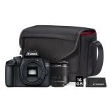 Canon EOS 4000D + 18-55 DC III + VUK černý