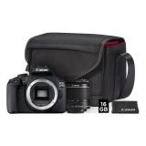 Digitální fotoaparát Canon EOS 2000D + 18-55 IS II + SB130 + 16GB karta černý