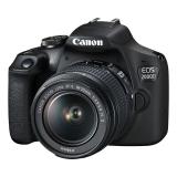 Canon EOS 2000D + 18-55 IS II + 50 f/1.8 STM černý