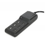 PLATINET 6× USB černá