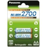 Panasonic AA, HR06, 2700mAh, Ni-MH, blistr 2ks