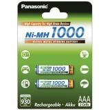 Panasonic AAA, HR03, 1000mAh, Ni-MH, blistr 2ks