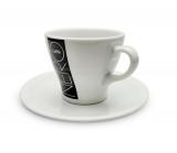 Šálek s podšálkem, cappuccino