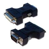LAMA VGA/DVI, M/F černá