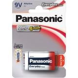 Panasonic Everyday Power 9V, 6LR61, blistr 1ks