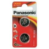 Panasonic Lithium Power, CR2032, 2 ks