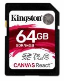 Kingston Canvas React SDXC 64GB UHS-I U3 (100R/80W)