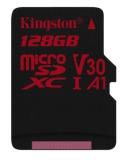 Kingston Canvas React microSDXC 128GB UHS-I U3 (100R/80W)