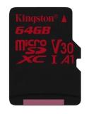 Kingston Canvas React microSDXC 64GB UHS-I U3 (100R/80W)
