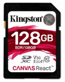 Kingston Canvas React SDXC 128GB UHS-I U3 (100R/80W)