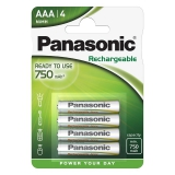 Panasonic Evolta AAA, 800 mAh, 4 ks