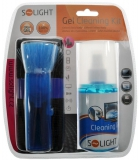 Solight CD & TV Gelová čisticí sada, 200ml, štetec, hadřík