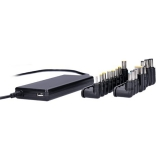Solight DA33 univerzální pro notebooky, 90 W, 6 koncovek, automat