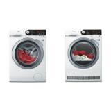 Set (Automatická pračka AEG ProSteam® L7FBE68SC) + (Sušička prádla AEG AbsoluteCare® T8DBE48SC)