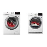 Set (Sušička prádla AEG AbsoluteCare® T8DBG68SC) + (Automatická pračka AEG ProSense™ L6FEG49SC)