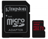 Kingston microSDHC 32GB UHS-I U3 (100R/70W) + adaptér